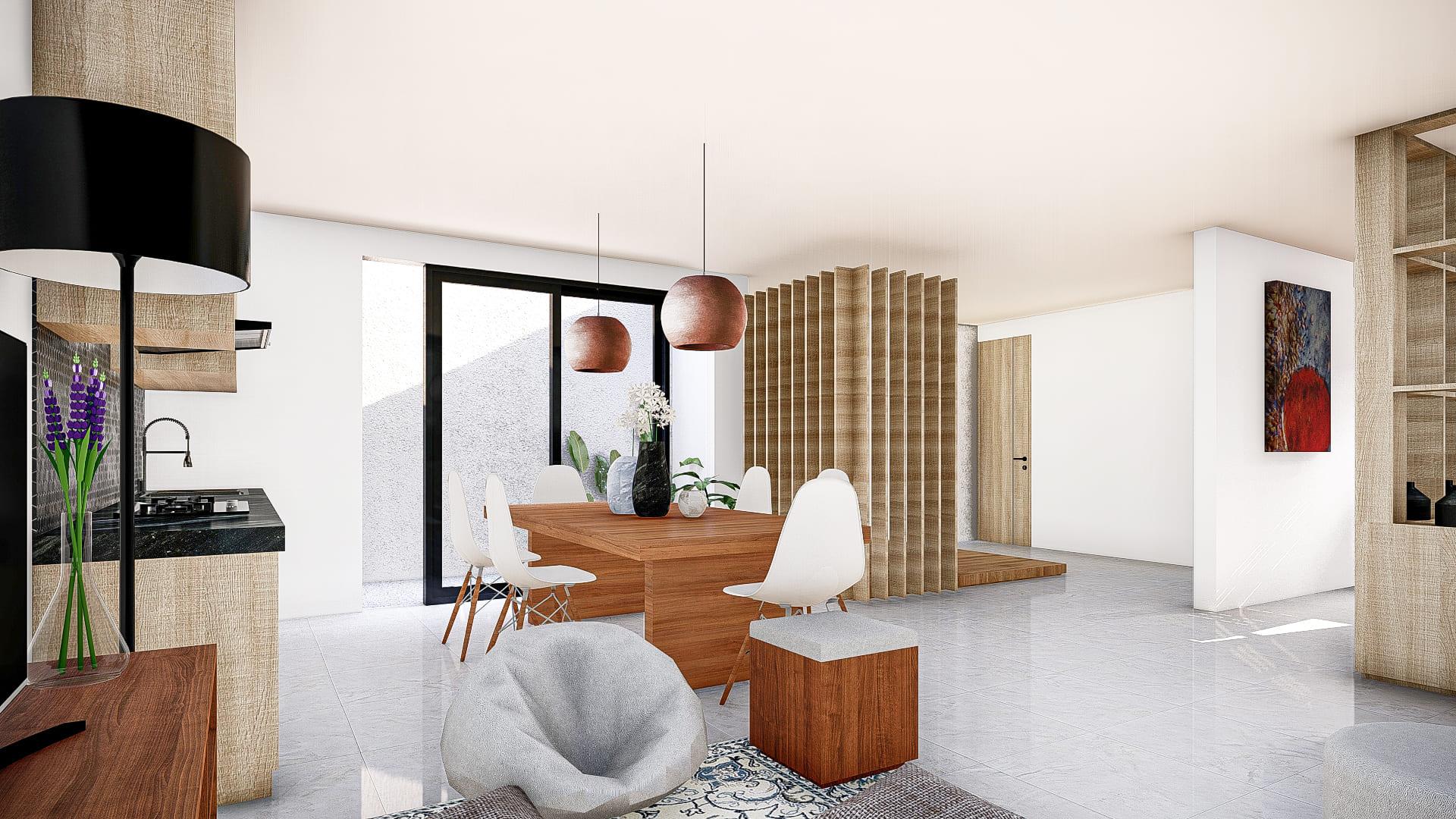 Ruang Keluarga & Ruang Makan